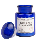 Paddywax Blue Apothecary Blue Sage & Lavender Candle
