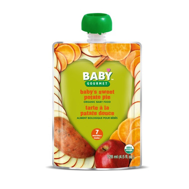 Baby Gourmet Sweet Potato Pie Baby Food Case