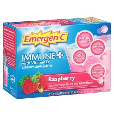 Emergen-C Immune Plus Raspberry