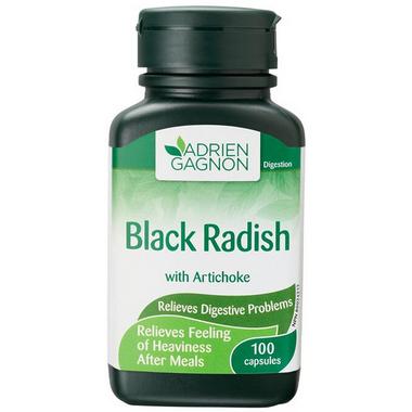 Adrien Gagnon Black Radish with Artichoke