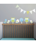 Trendy Peas Wall Decals Birds & Owls