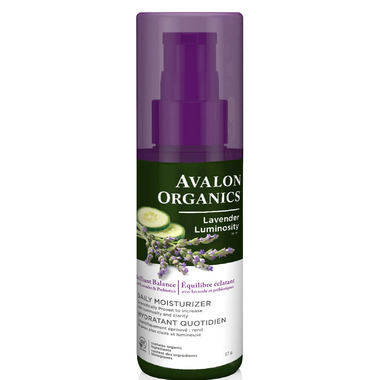 Avalon Organics Brilliant Balance Lavender Luminosity Daily Moisturizer