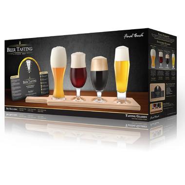 Final Touch Beer Flight Tasting Set