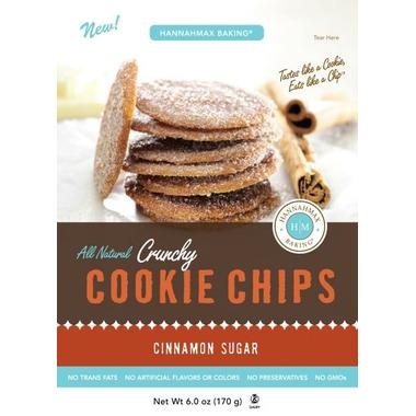 HannahMax Crunchy Cookie Chips Cinnamon Sugar