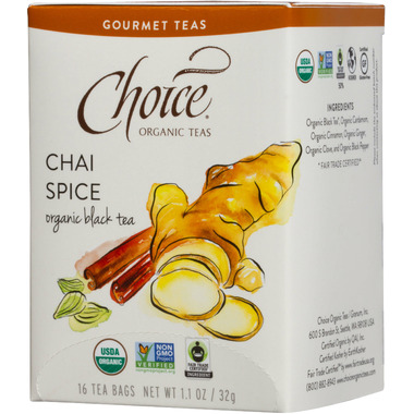 Choice Organic Teas Chai Spice Tea