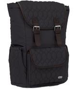 Lug Derby Backpack Midnight Black
