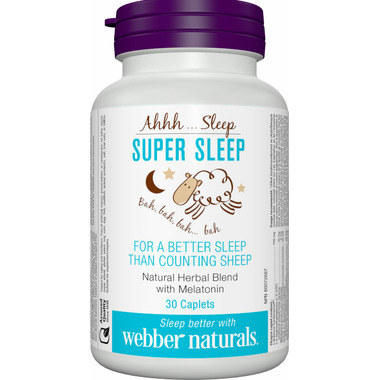 Buy Webber Naturals Super Sleep From Canada At Well Ca