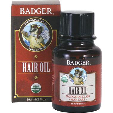 Badger Hair Oil For Men