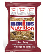 IronKids Mixed Berry Snack Bar