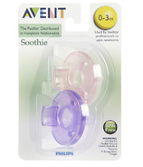 Philips AVENT Soothie Pacifier - Purple/Pink
