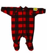 Snug As A Bug Baby Footed Onesie Canada Plaid
