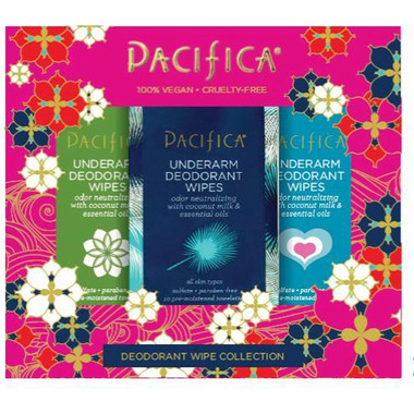 Pacifica Deodorant Wipes Trio Set