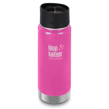Klean Kanteen Insulated Wide Bottle with Cafe Cap 2.0 Wild Orchid