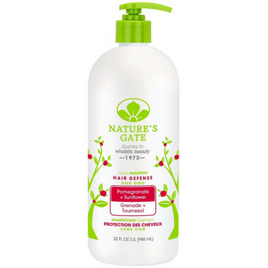 Nature\'s Gate Pomegranate Sunflower Hair Protection Shampoo