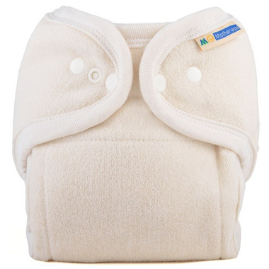 Motherease One Size Cloth Diaper Unbleached