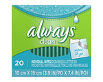 Vaginal Cleansing Cloths & Wipes