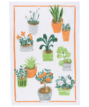 Now Designs Potted Plants Print Tea Towel