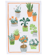 Now Designs Potted Plants Print Tea Towel