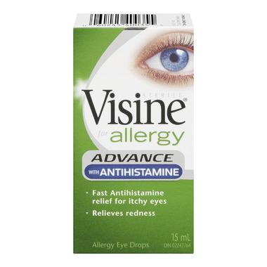 Visine with Antihistamine Eye Drops