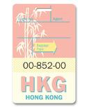 Smitten Kitten Hong Kong Luggage Tag