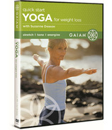 Gaiam Quick Start Yoga For Weight Loss DVD