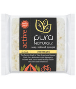 Pura Naturals Active Soap Infused Sponge Unscented