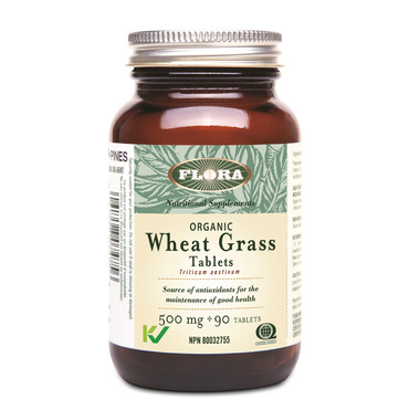 Flora Wheat Grass Tabs