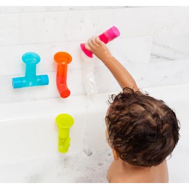 Boon Pipes Building Bath Toy Multicolor