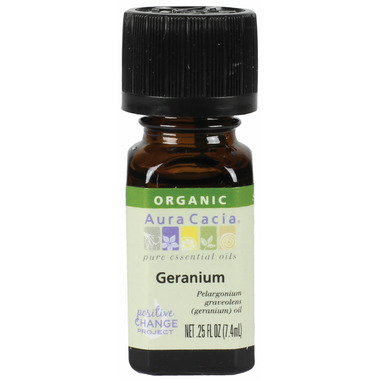 Aura Cacia Organic Geranium Essential Oil