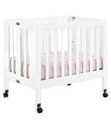 Babyletto Origami Collapsible Mini Crib White