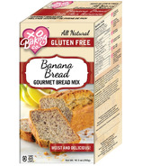 XO Baking Gluten Free Banana Bread Gourmet Bread Mix