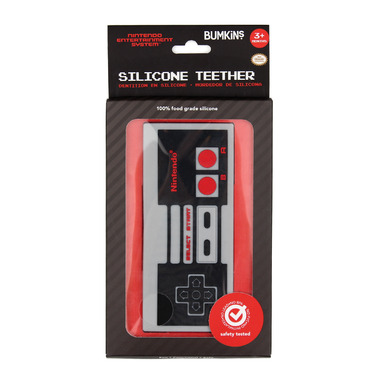 Bumkins Nintendo Silicone Teethers NES Controller