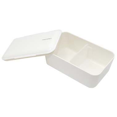 Takenaka Bento-Box Expanded White Lunch Box