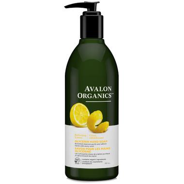 Avalon Organics Lemon Glycerin Liquid Hand Soap