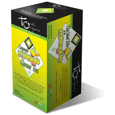 Touch Organic Mango Green Tea