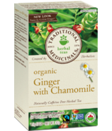 Traditional Medicinals Organic Ginger with Chamomile Tea