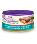 Wellness Signature Selects Flaked Skipjack Tuna & Shrimp Wet CASE OF 24