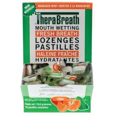 TheraBreath Mouth Wetting Fresh Breath Lozenges
