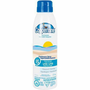 Coppertone Continuous Spray Clear Sunscreen