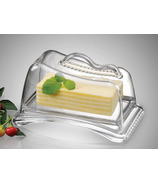 Prodyne Butter Please Acrylic Covered Butter Dish
