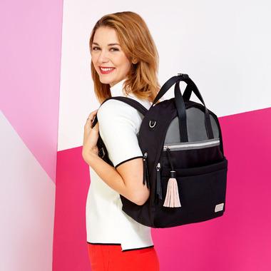 Skip Hop Nolita Neoprene Diaper Backpack Black/ Grey