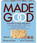 MadeGood Organic Vanilla Crispy Squares