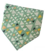 Acorn & Leaf Bandana Bib Prism