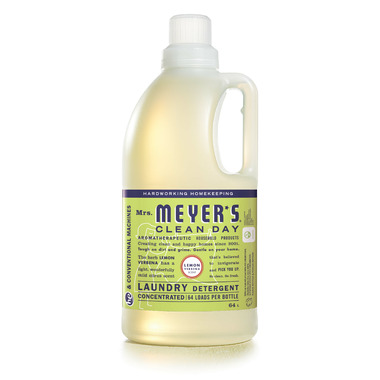 Mrs. Meyer\'s Clean Day Concentrated Liquid Laundry Soap Lemon Verbena