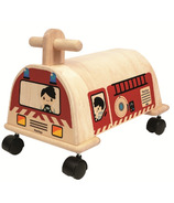 Plan Toys Ride-On Fire Engine