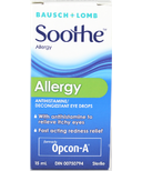 Bausch & Lomb Soothe Allergy Eye Drops