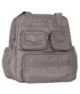 Lug Puddle Jumper Gym / Overnight Bag Walnut Brown