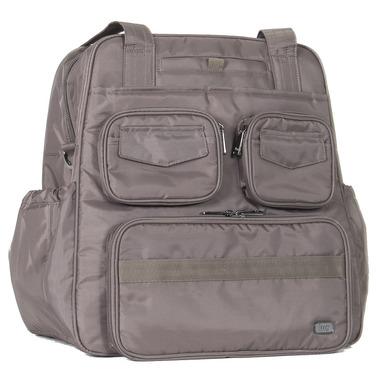 Lug Puddle Jumper Gym / Overnight Bag Walnut Brown