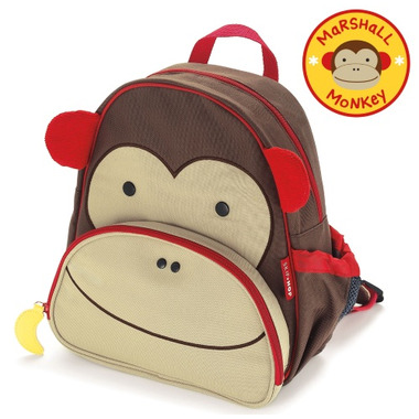 Skip Hop Zoo Packs Little Kid Backpack Monkey Design