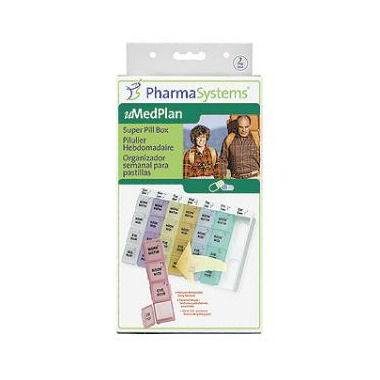 PharmaSystems Super Pill Box